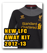 Official LFC Away Kit 2012/13