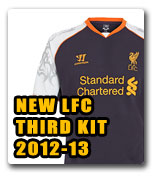 Official LFC Third Kit 2012/13