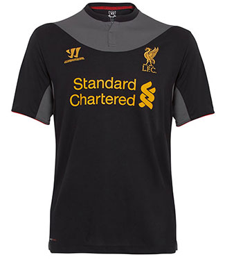New Liverpool Away Shirt 12-13