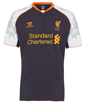 New Liverpool Third Shirt 12-13